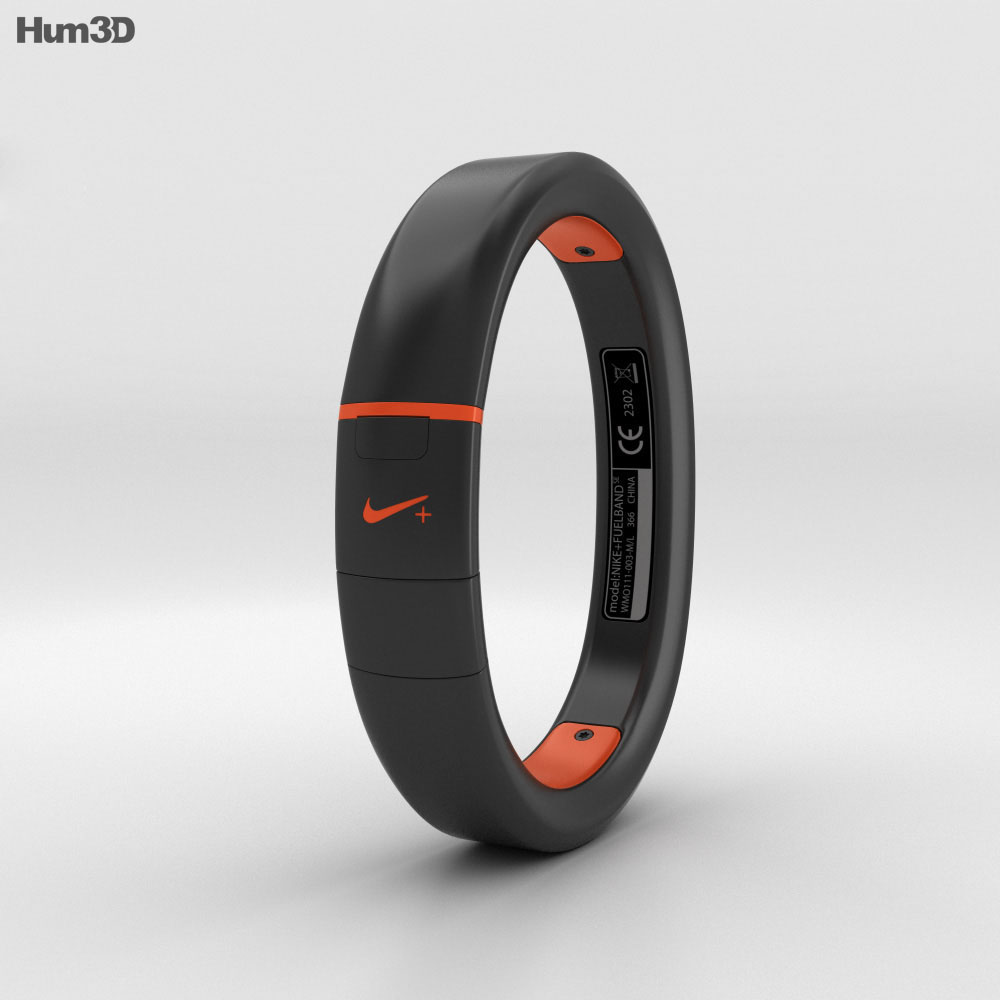 Nike+ FuelBand SE Total Crimson 3d model
