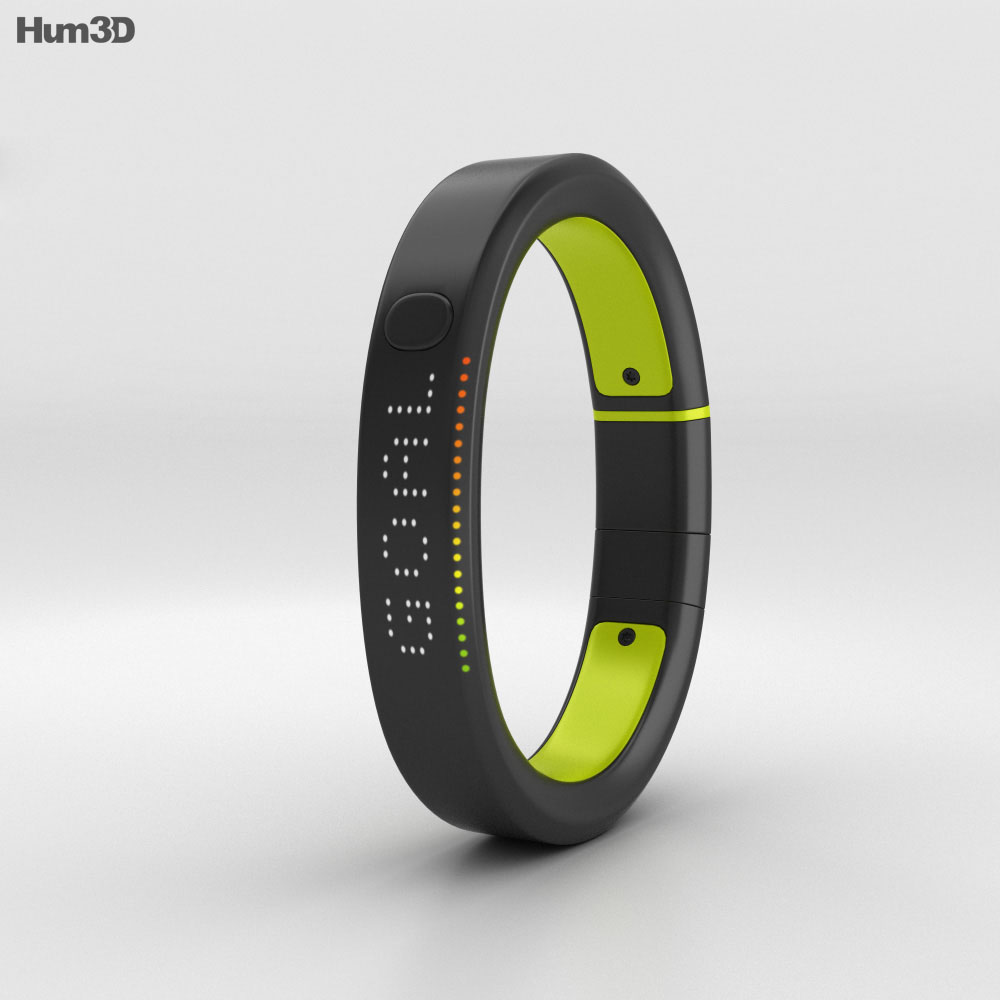 3D model of Nike+ FuelBand SE Volt
