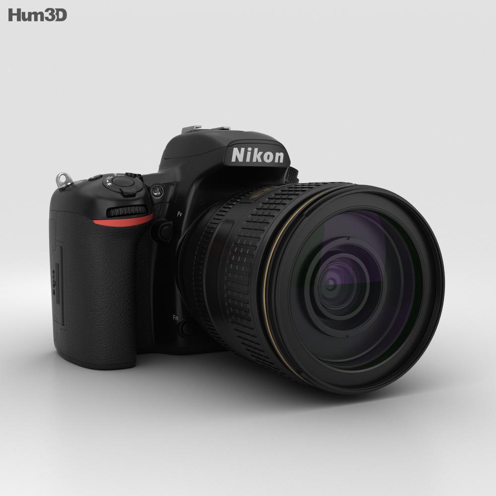 Nikon D750 3d model