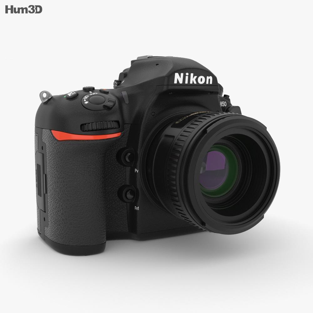 Nikon D850 3d model