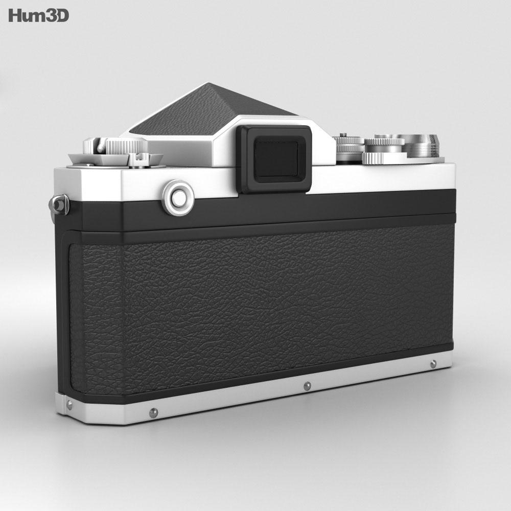 Nikon F Silver 3d model