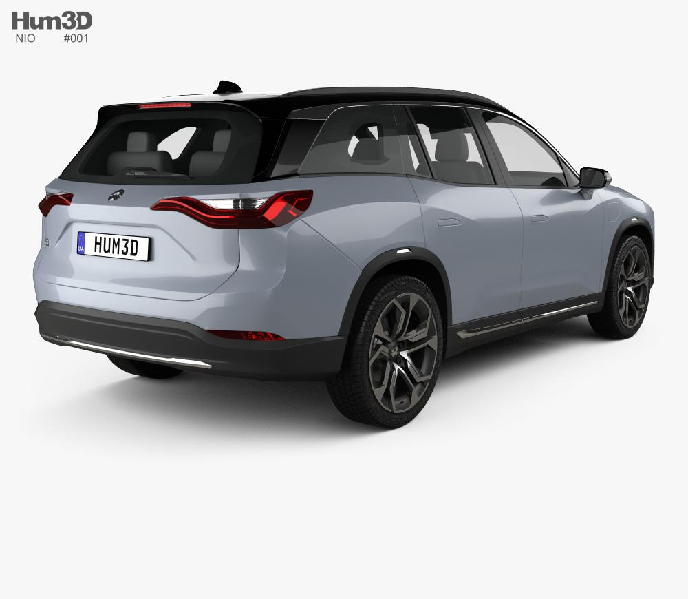 Nio ES8 2018 3d model