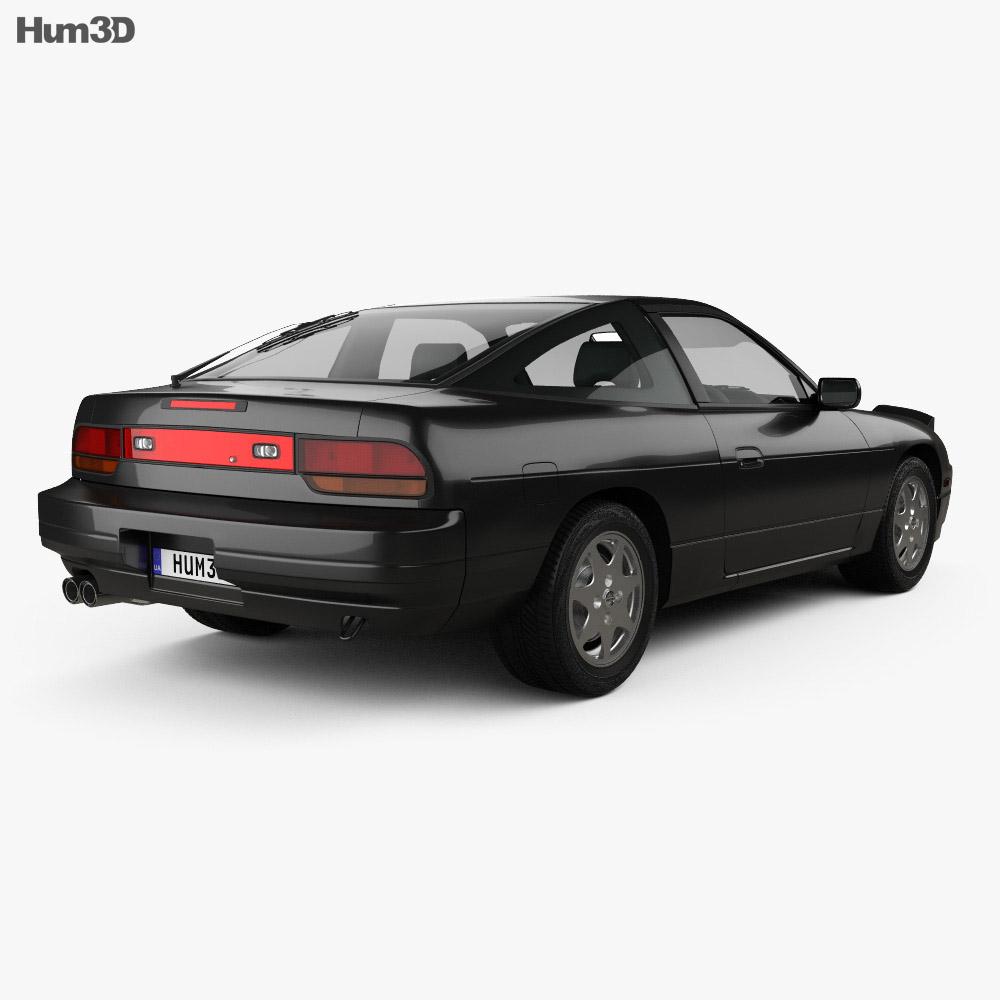 Nissan 180SX 1991 3d model
