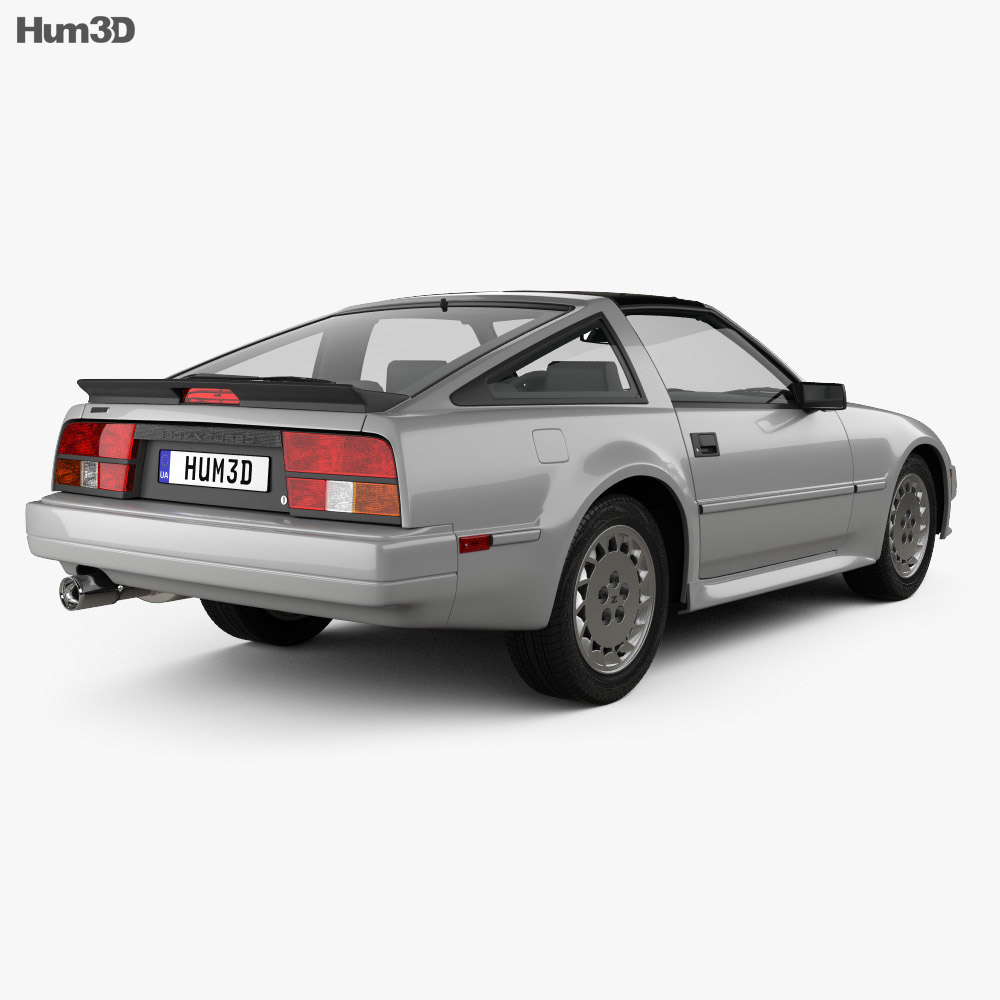 Nissan 300ZX (Z31) Turbo 1983 3d model