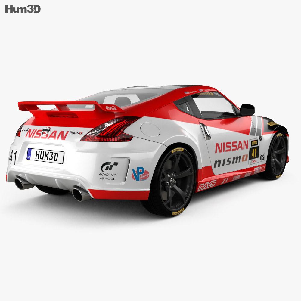 Nissan 370Z Nismo GT Academy 2009 3d model
