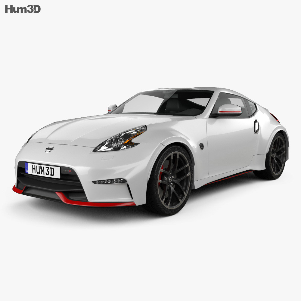 nissan 370z nismo 2015 3d model. Black Bedroom Furniture Sets. Home Design Ideas