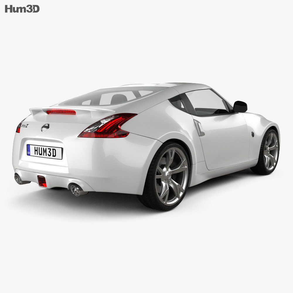 Nissan 370Z Coupe 2009 3d model