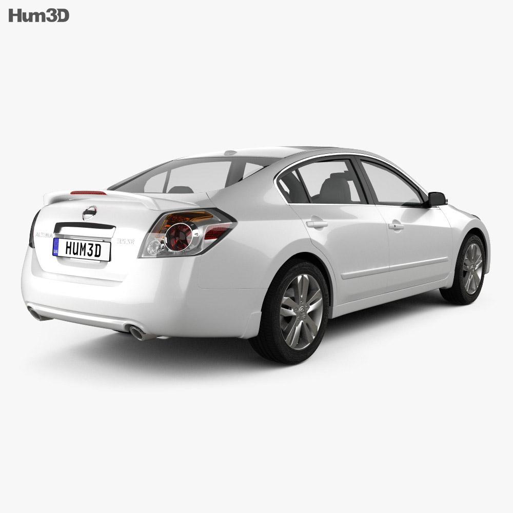 Nissan Altima 2012 3d model