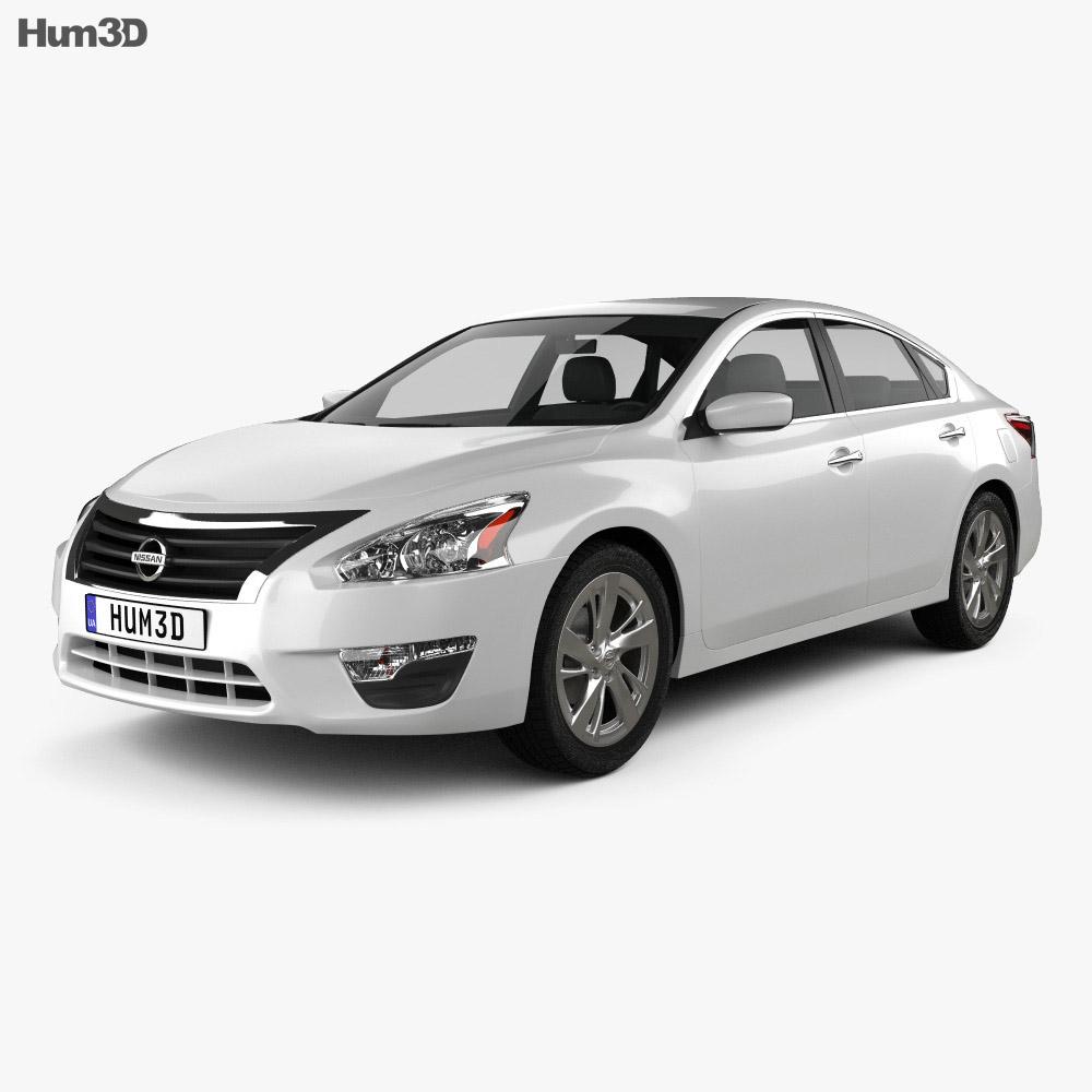 Nissan Altima (Teana) 2013 3d model