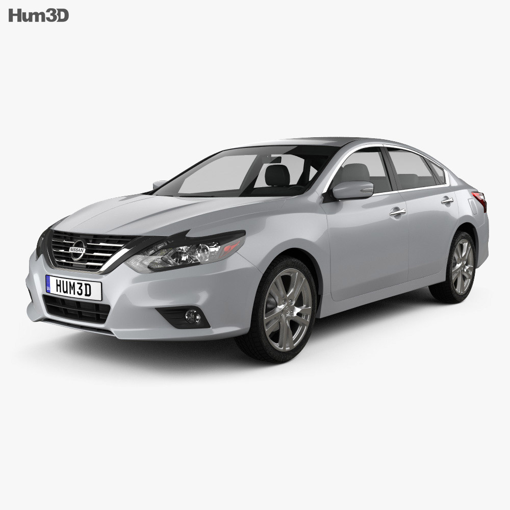 Nissan Altima SL 2016 3d model