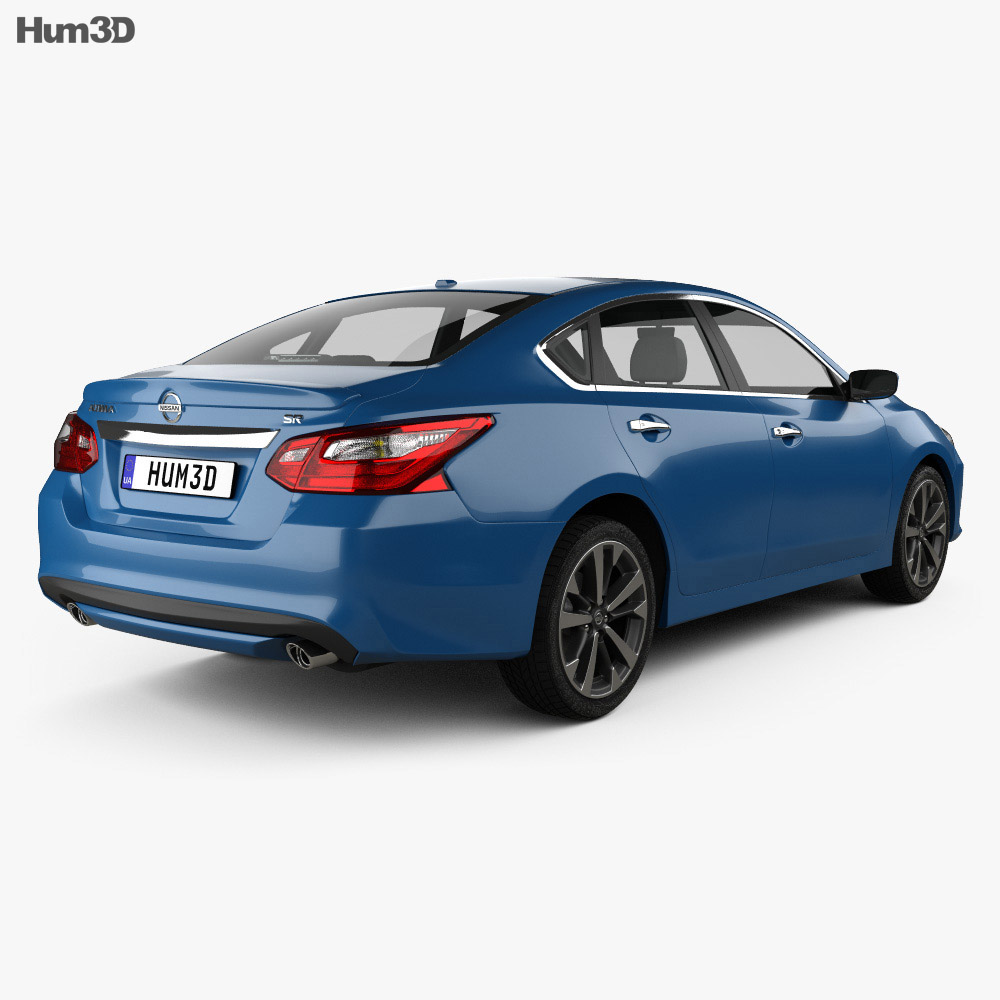 Nissan Altima SR 2015 3d model