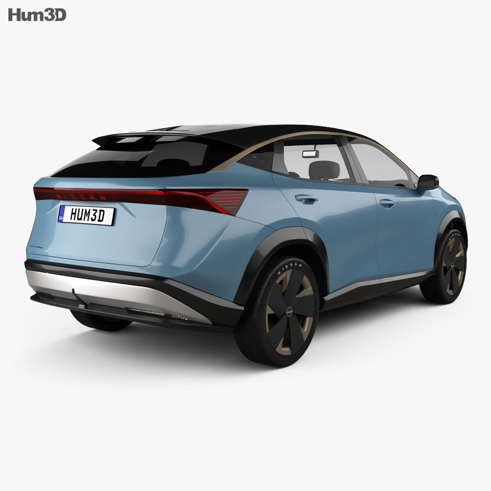 Nissan Ariya 2019 3d model
