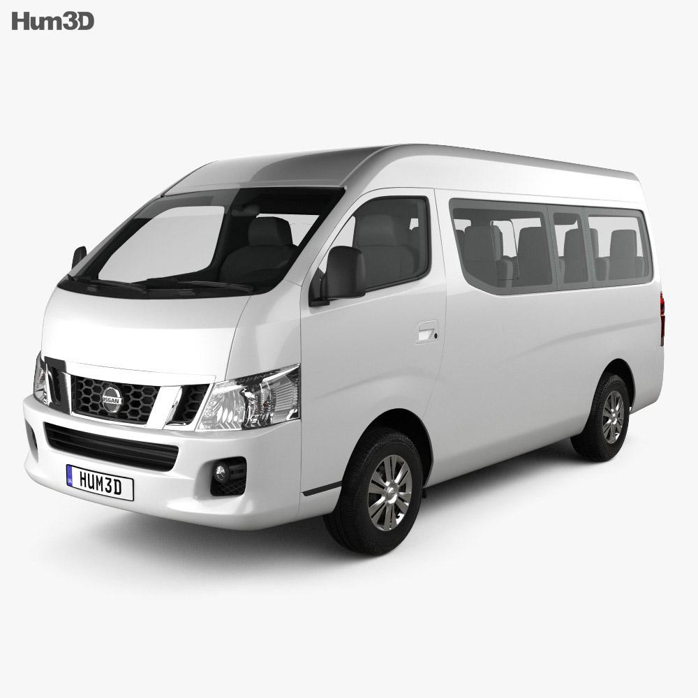 Nissan Nv Review >> Nissan Urvan (NV350) LWB HR 2012 3D model - Hum3D