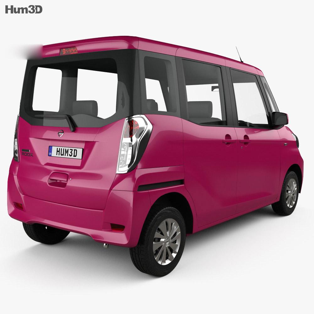 Nissan Dayz Roox 2013 3d model
