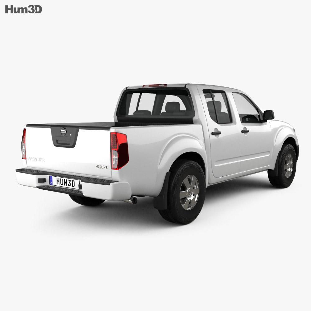 Nissan Frontier Crew Cab Short Bed 2012 3d model