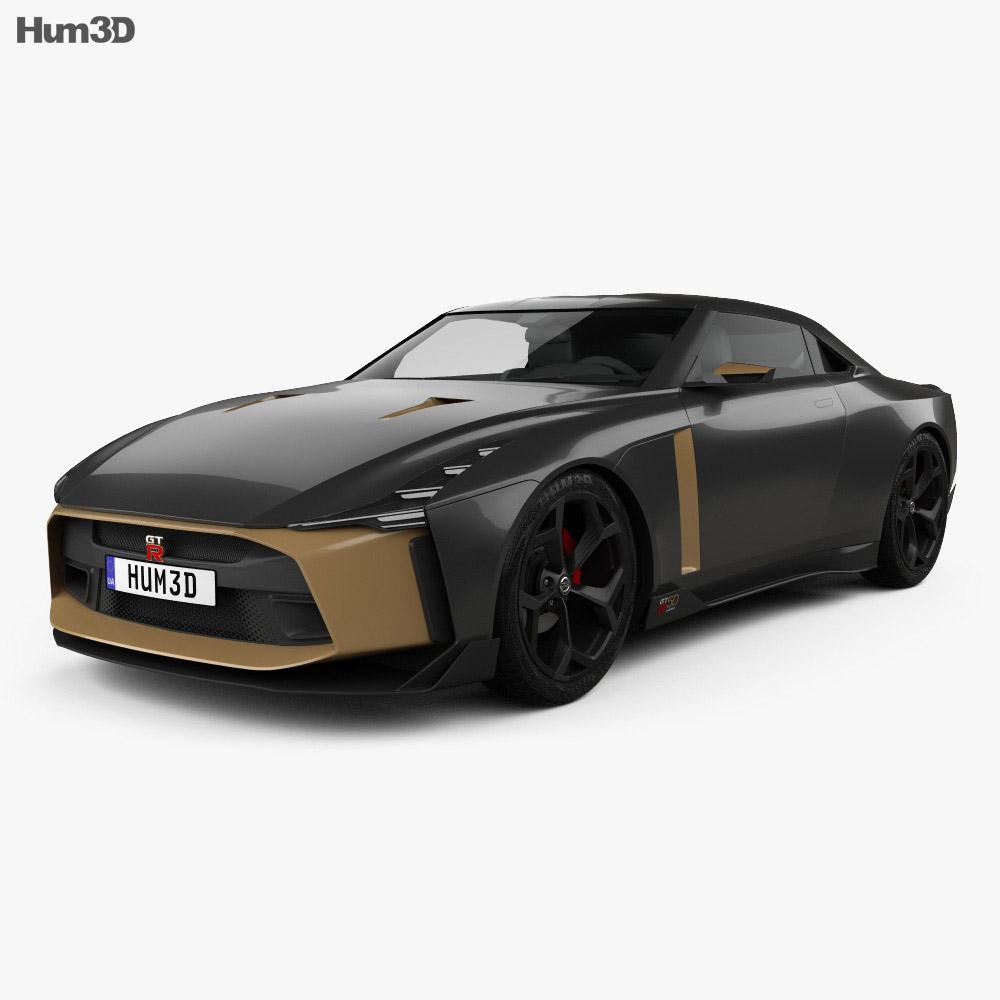 Nissan GT-R50 2018 3d model