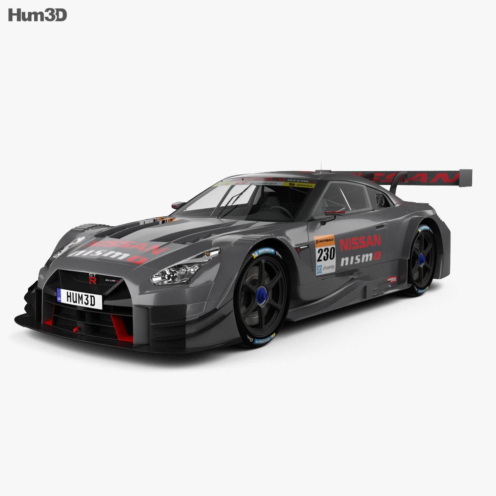 Nissan GT-R GT500 Nismo 2017 3d model