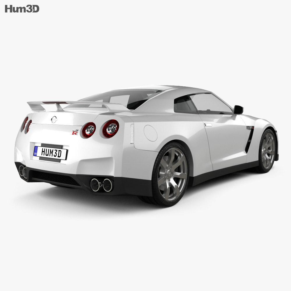 Nissan GT-R 2010 3d model