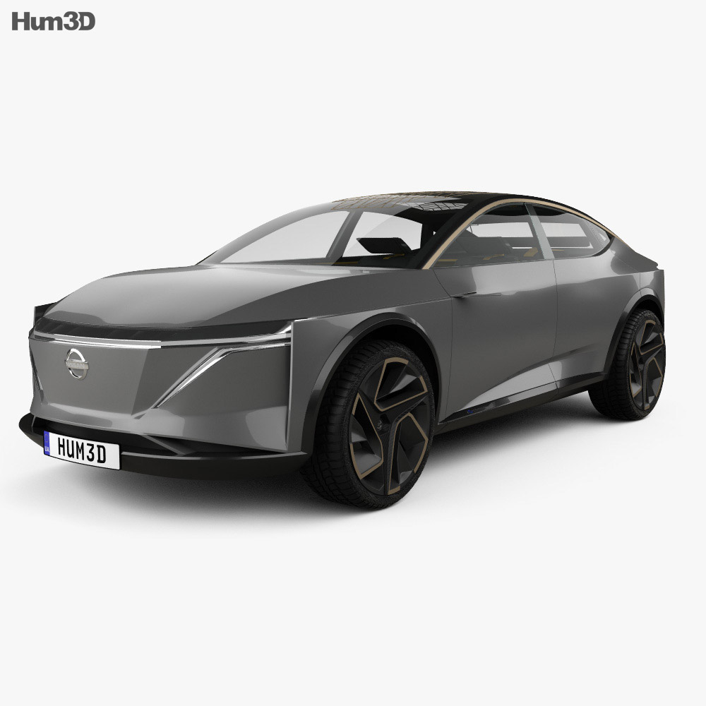 Nissan IMs with HQ interior 2019 3d model