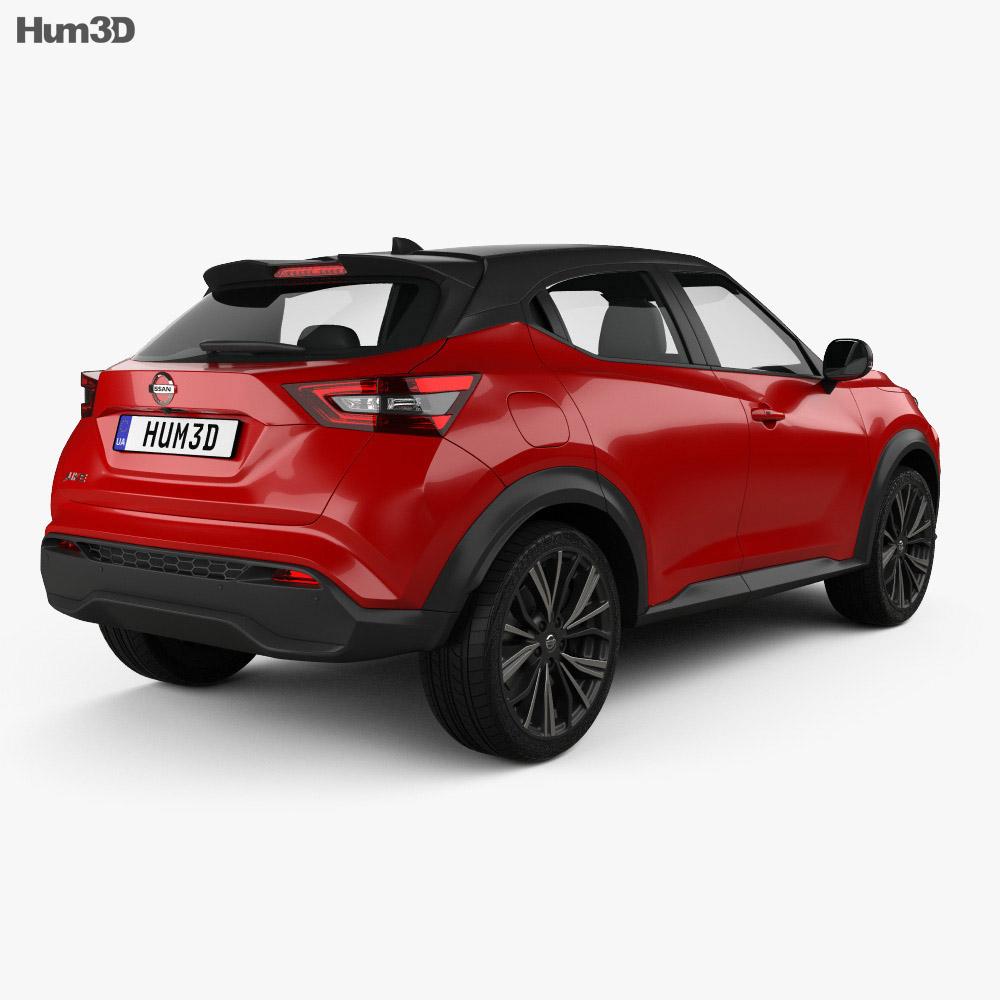 Nissan Juke 2020 3d model