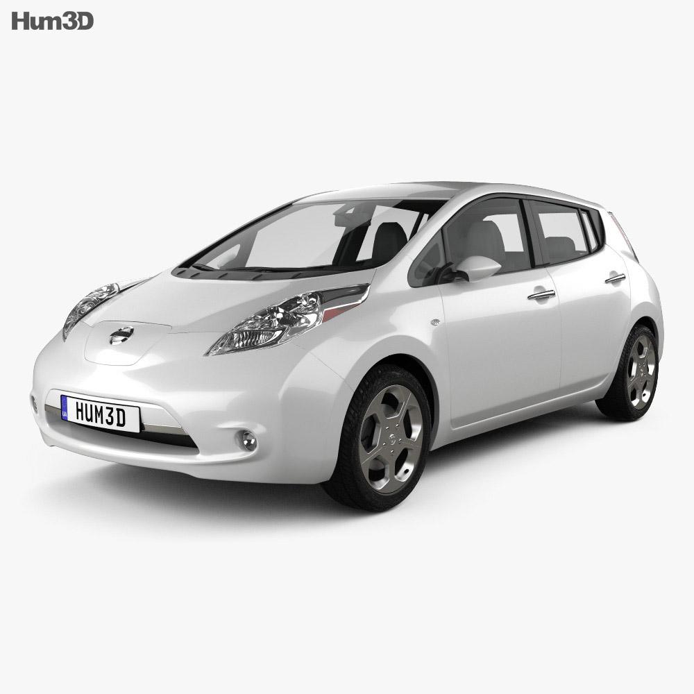 Nissan LEAF 2011 3d model