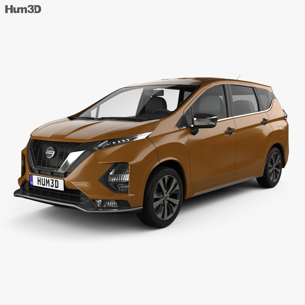 Nissan Livina 2019 3d model