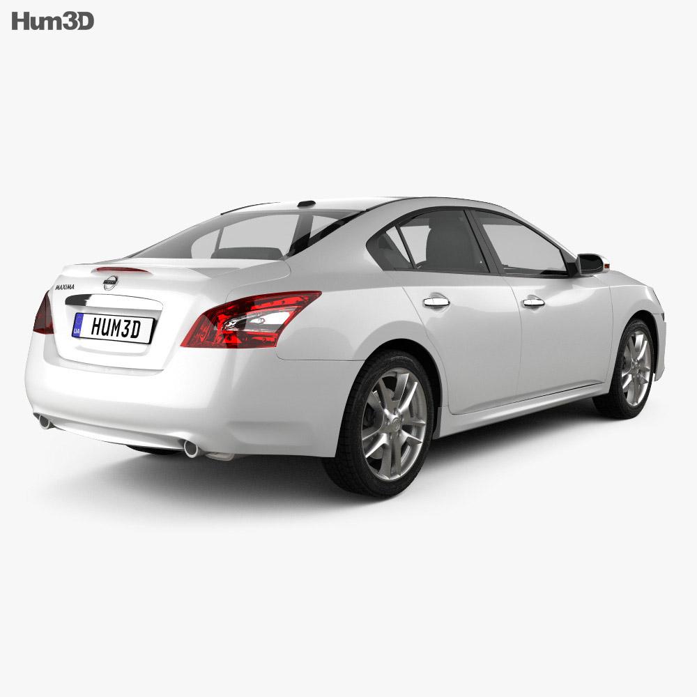 Nissan Maxima 2012 3d model