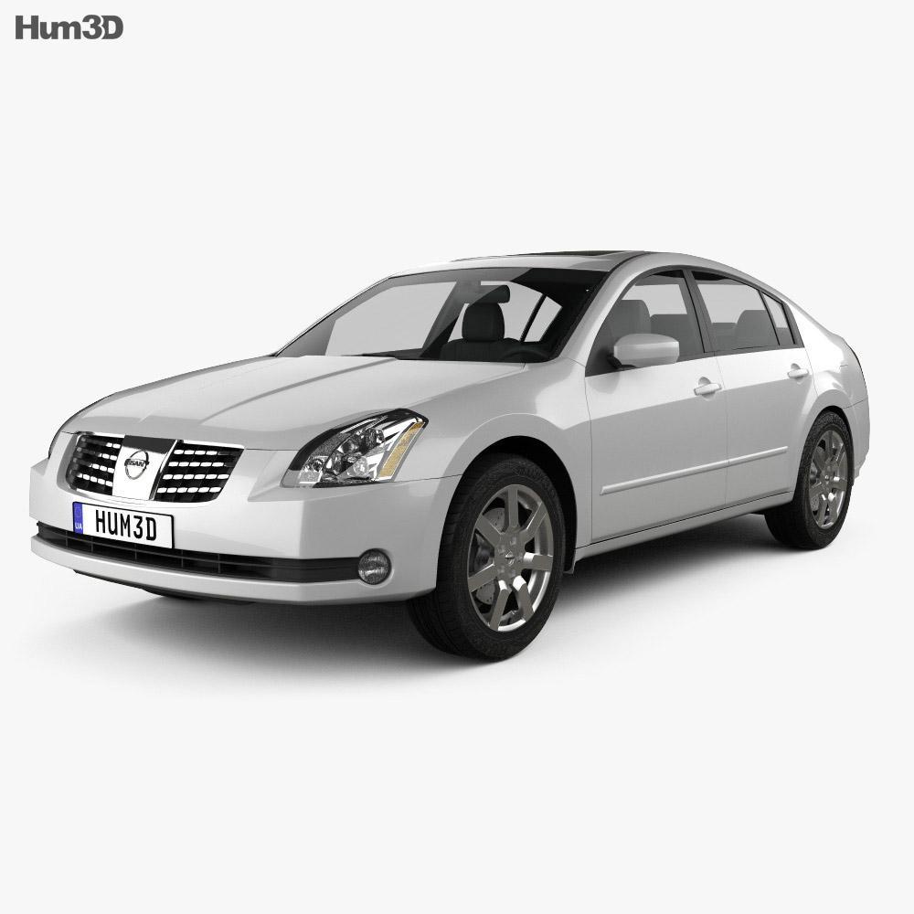 Nissan Maxima SL 2004 3d model