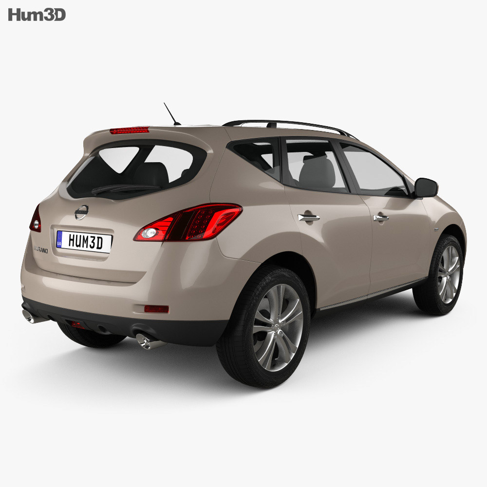 Nissan Murano (Z51) 2013 3d model