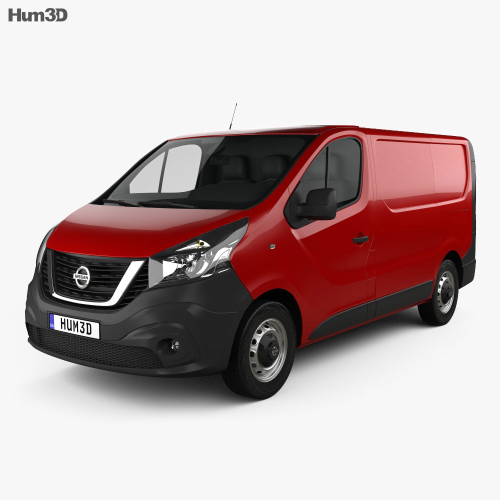 Nissan NV300 Panel Van L1H1 2016 3d model