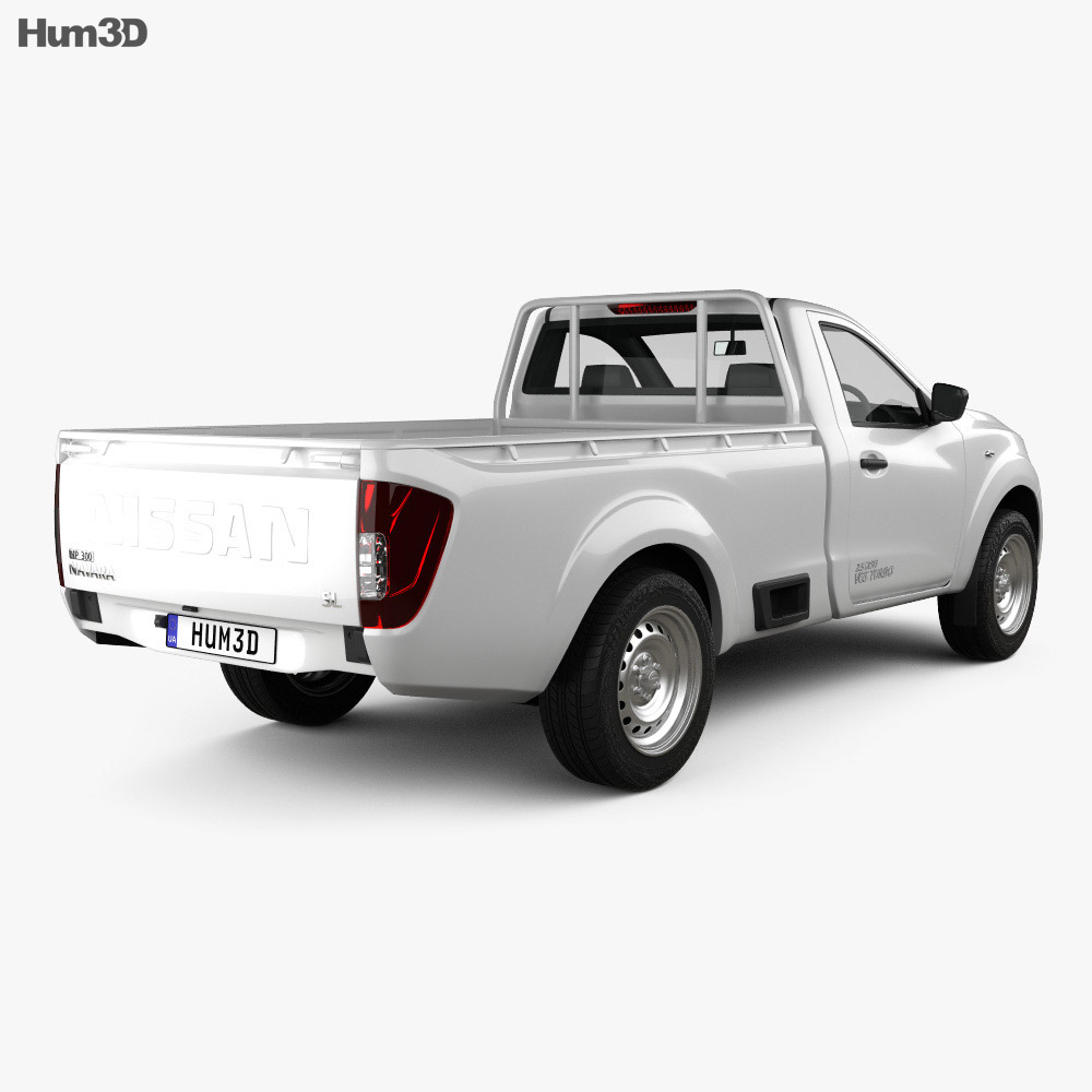Nissan Navara Single Cab 2015 3d model