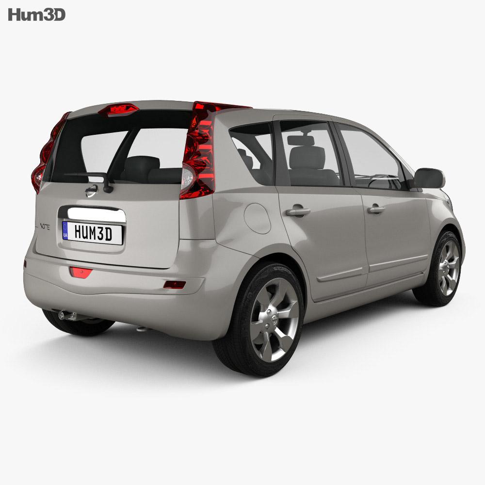 Nissan Note 2009 3d model