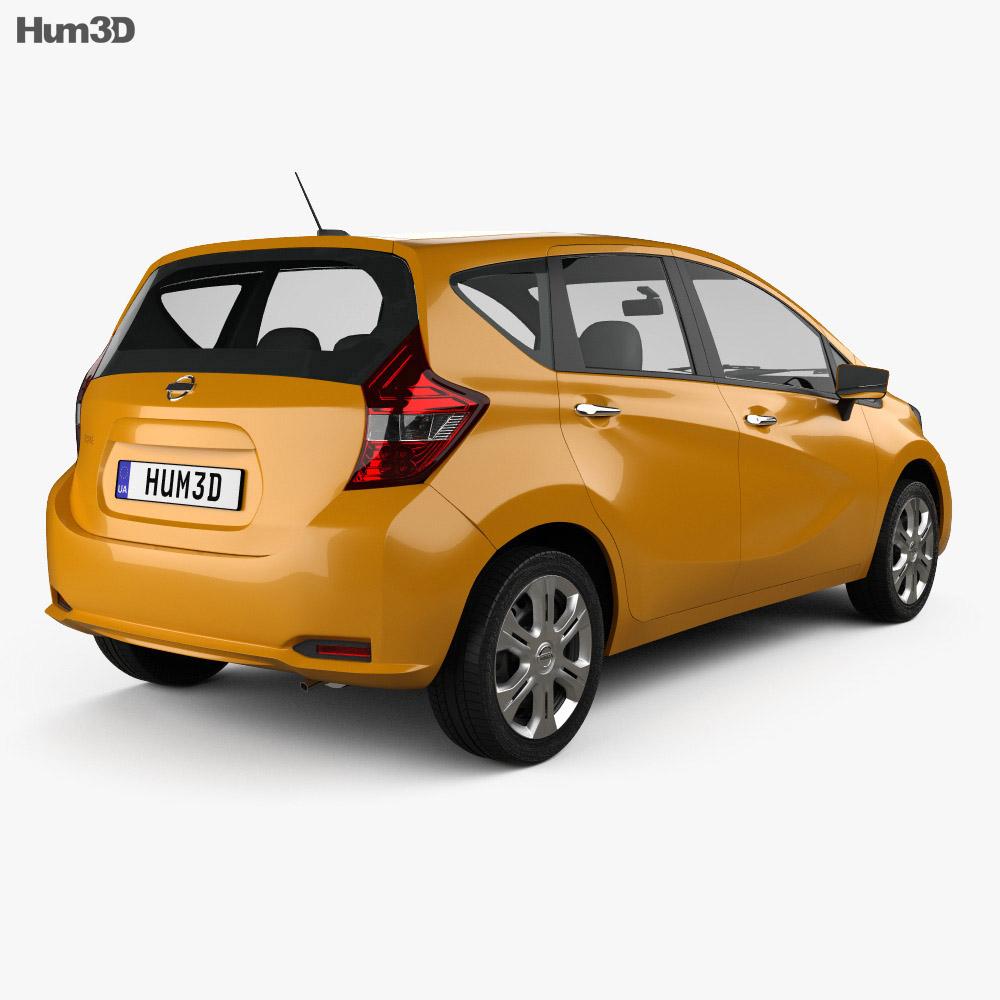 Nissan Note e-Power (JP) 2016 3d model