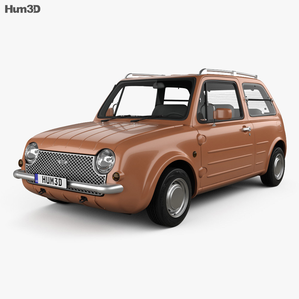 Nissan Pao 1989 3d model