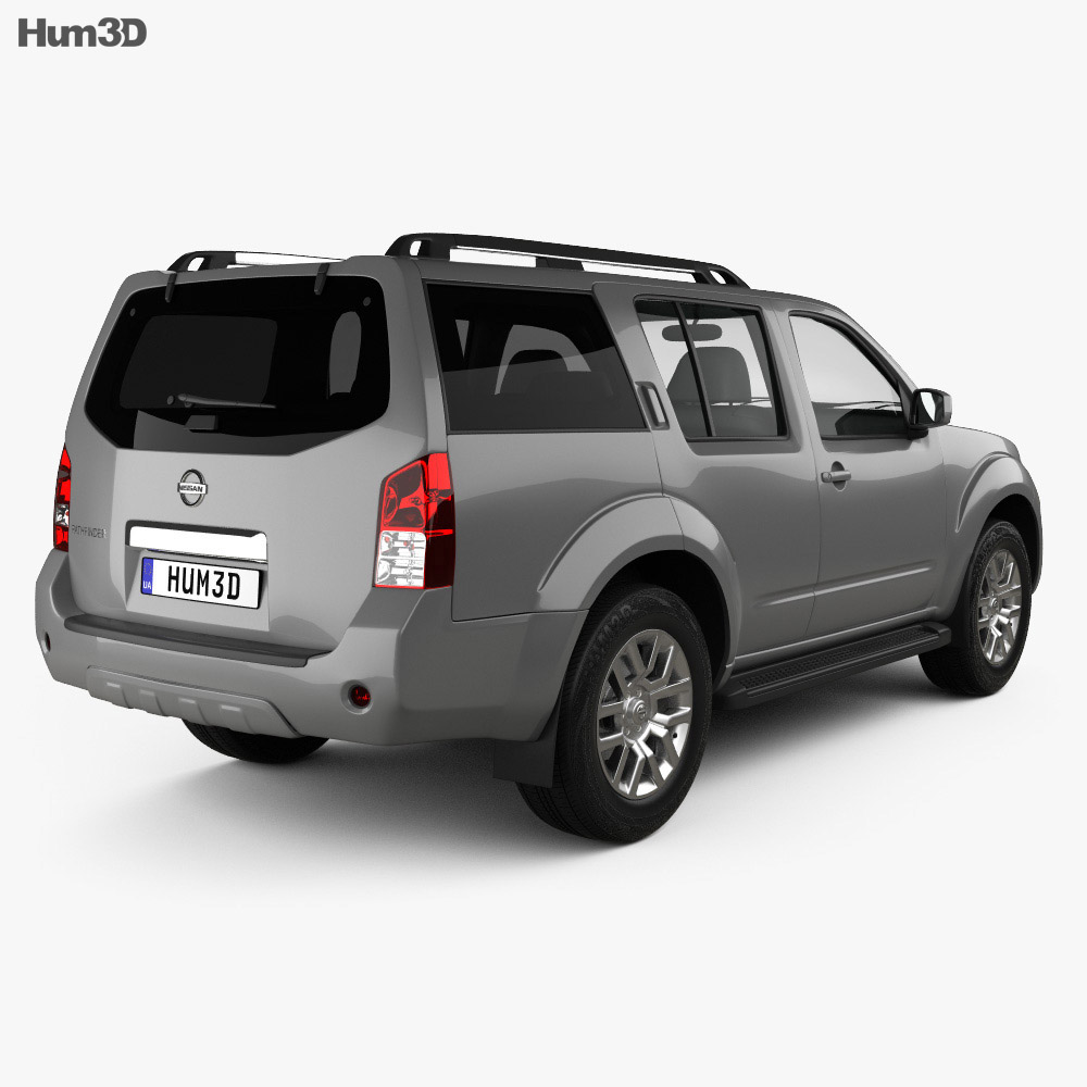 Nissan Pathfinder 2010 3d model
