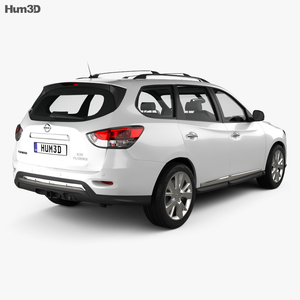 Nissan Pathfinder 2013 3d model