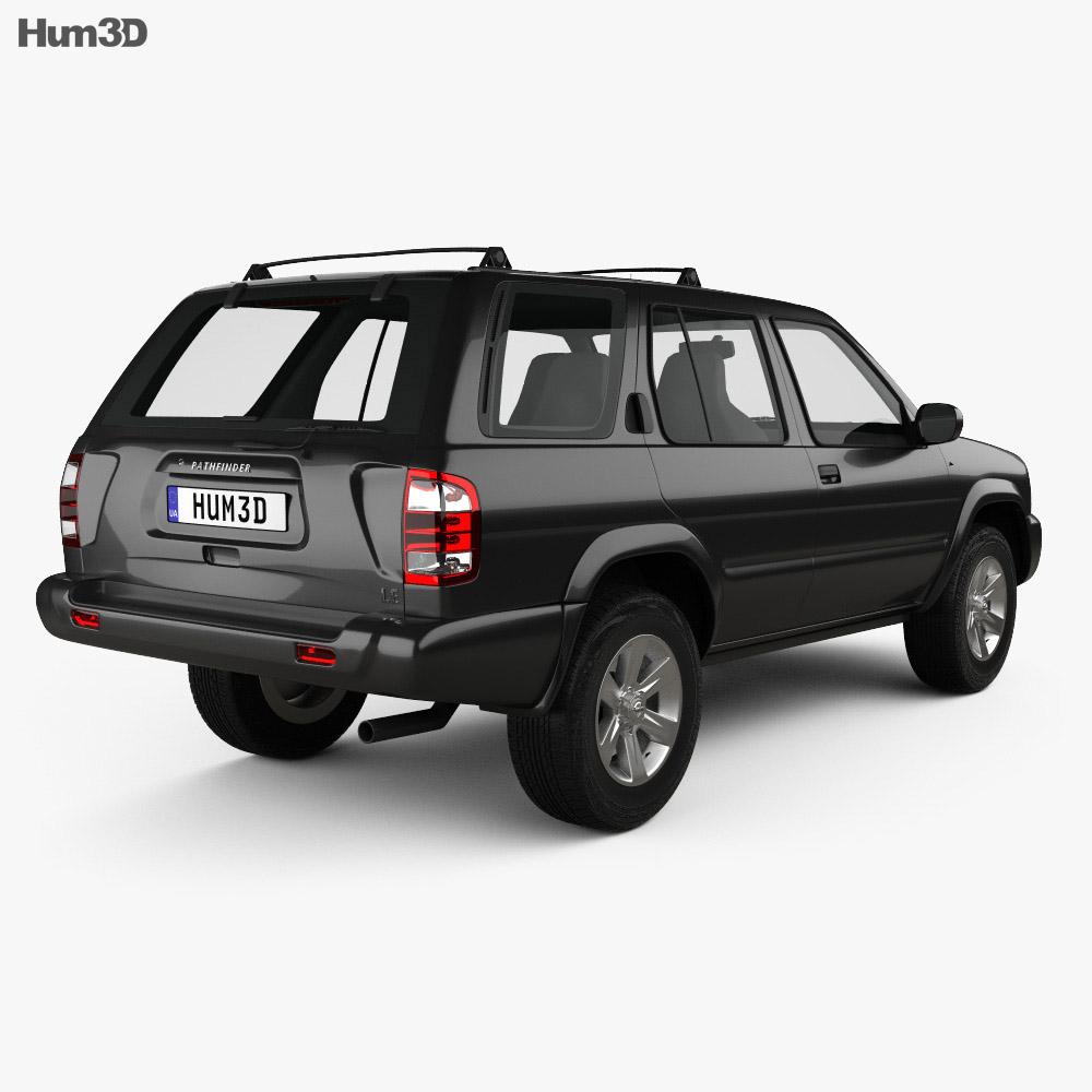 Nissan Pathfinder 2002 3d model