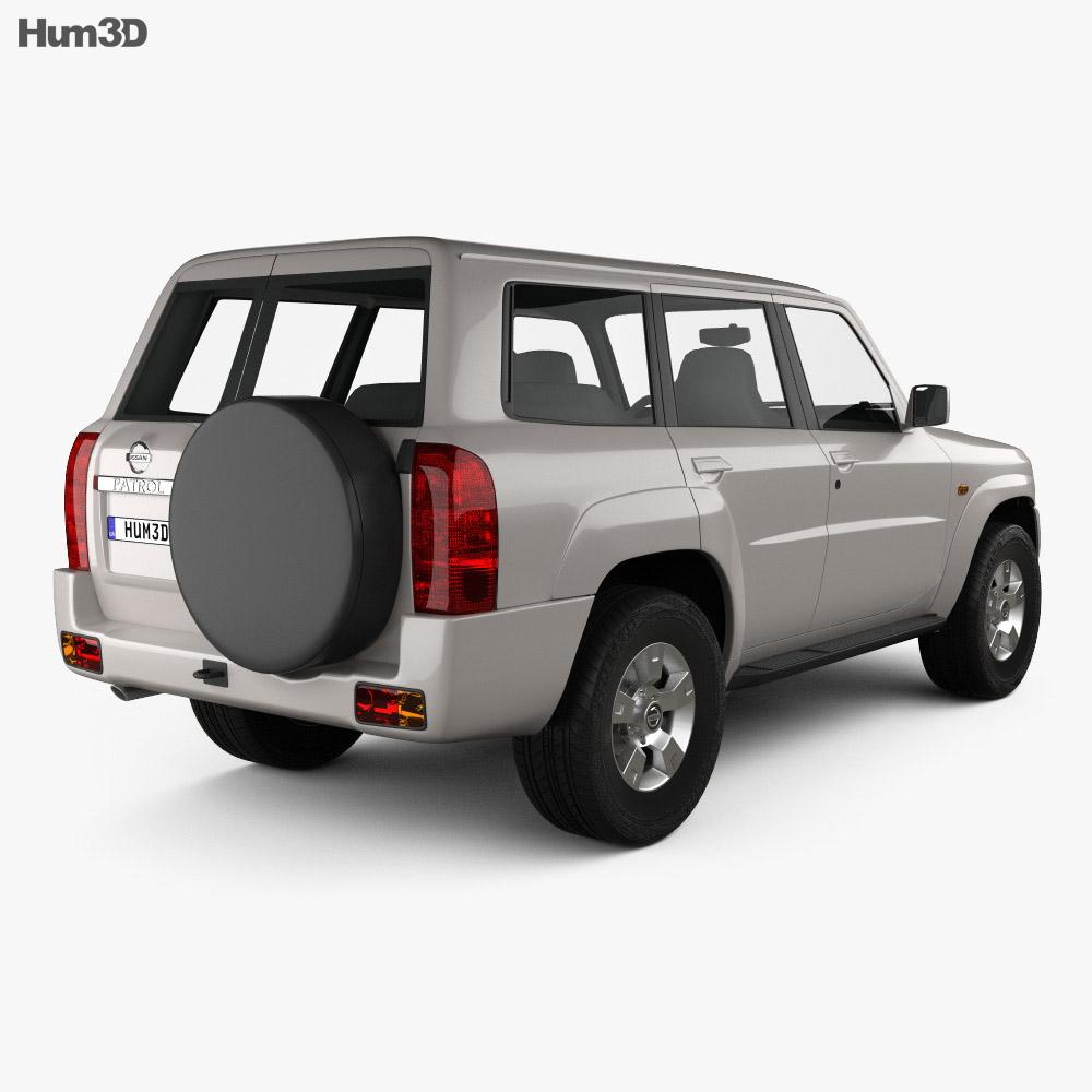 Nissan Patrol (Y61) 2004 3d model