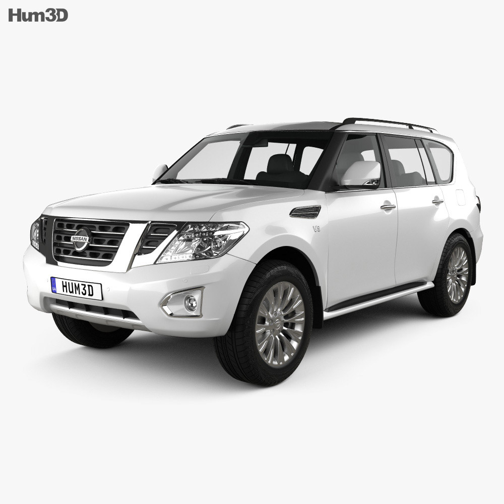 Nissan Patrol (CIS) 2014 3d model