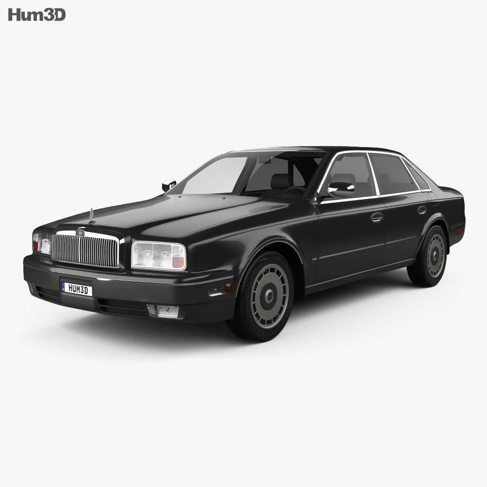 Nissan President 1998 3d model