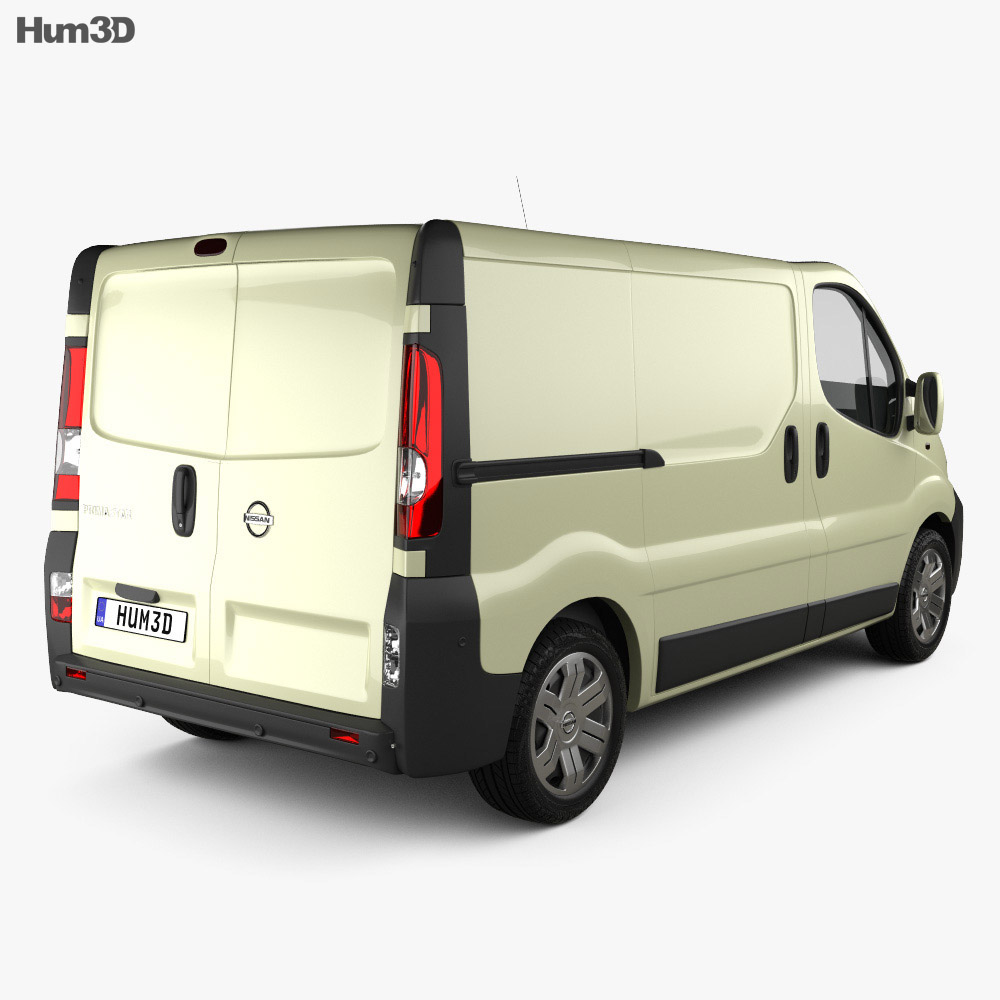 Nissan Primastar Panel Van 2002 3d model