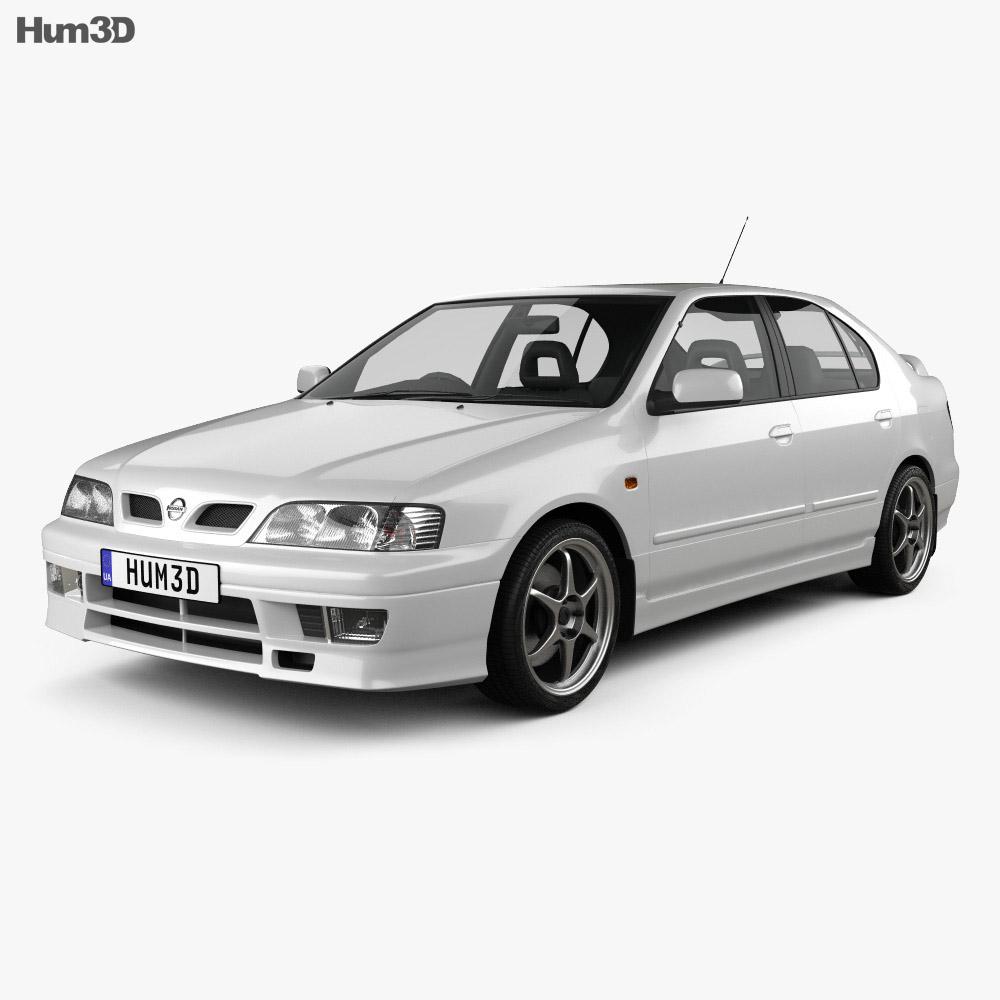 Nissan Primera GT 1997 3d model