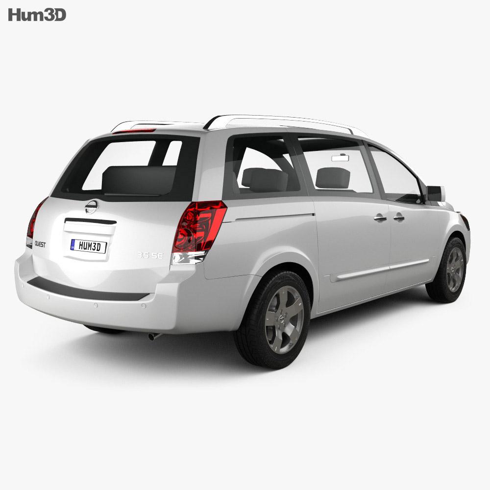 Nissan Quest 2006 3d model