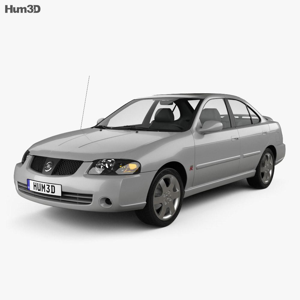 All Types 2004 sentra : Nissan Sentra SE-R 2004 3D model - Hum3D