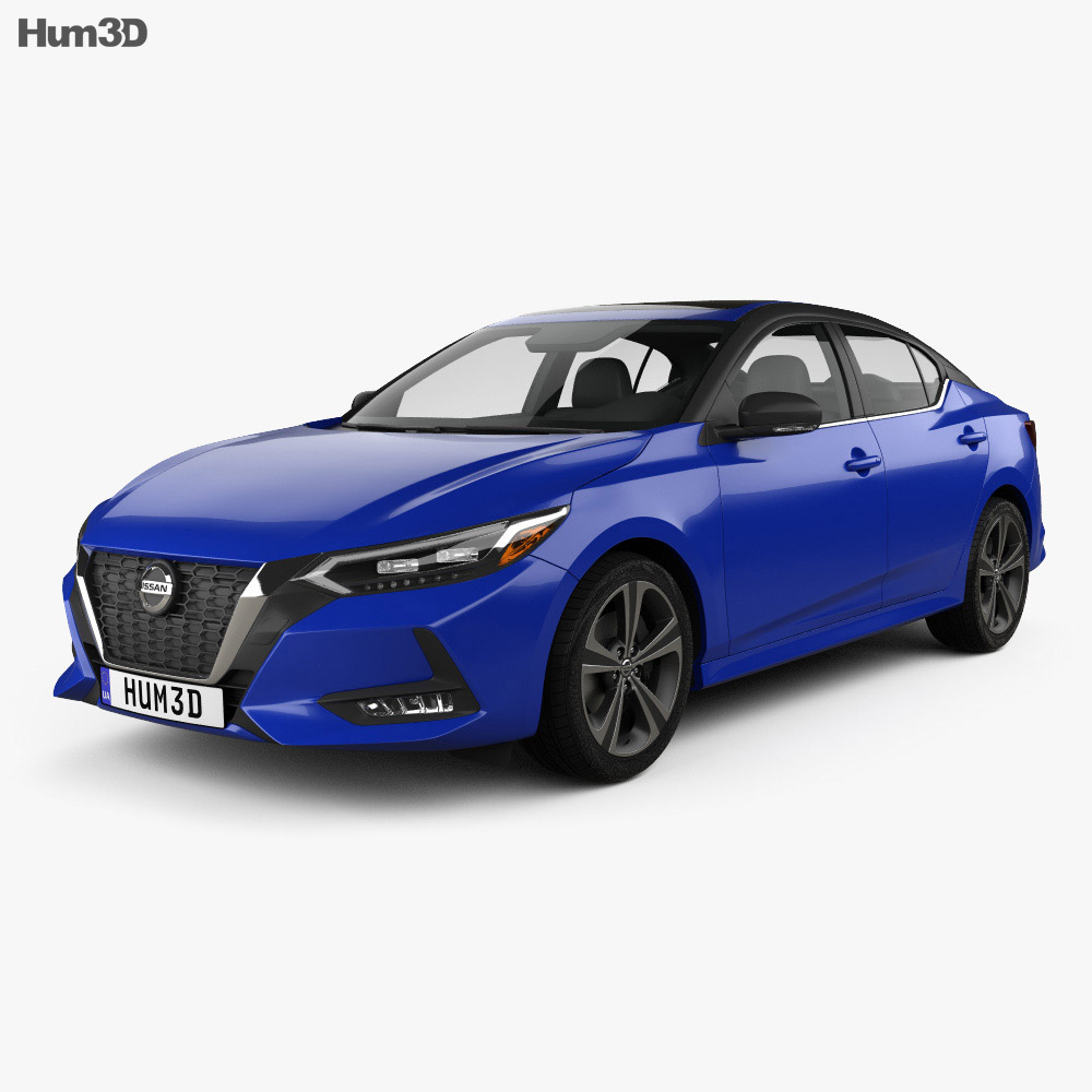 Nissan Sentra SR 2020 3d model