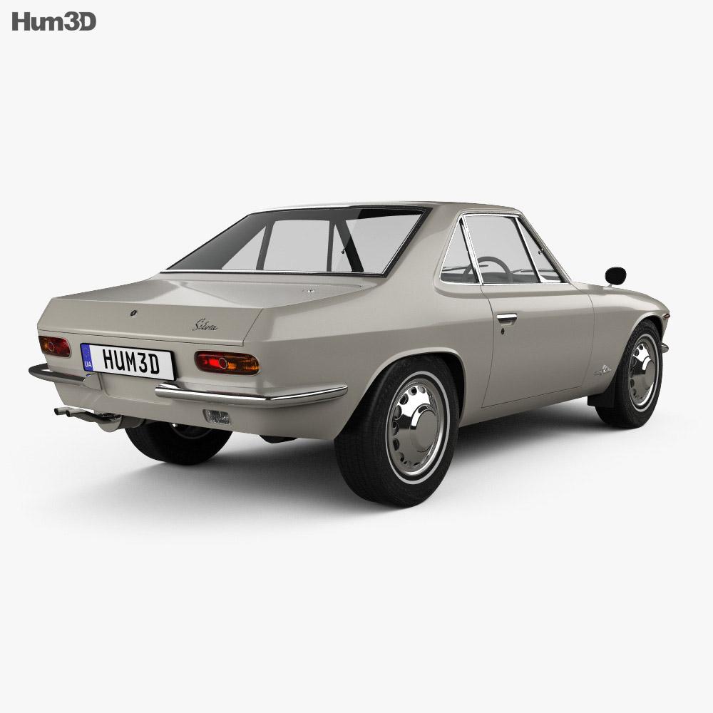 Nissan Silvia 1965 3d model