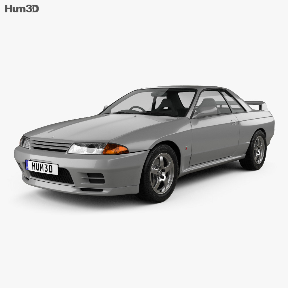 Nissan Skyline (R32) GT-R coupe 1989 3d model