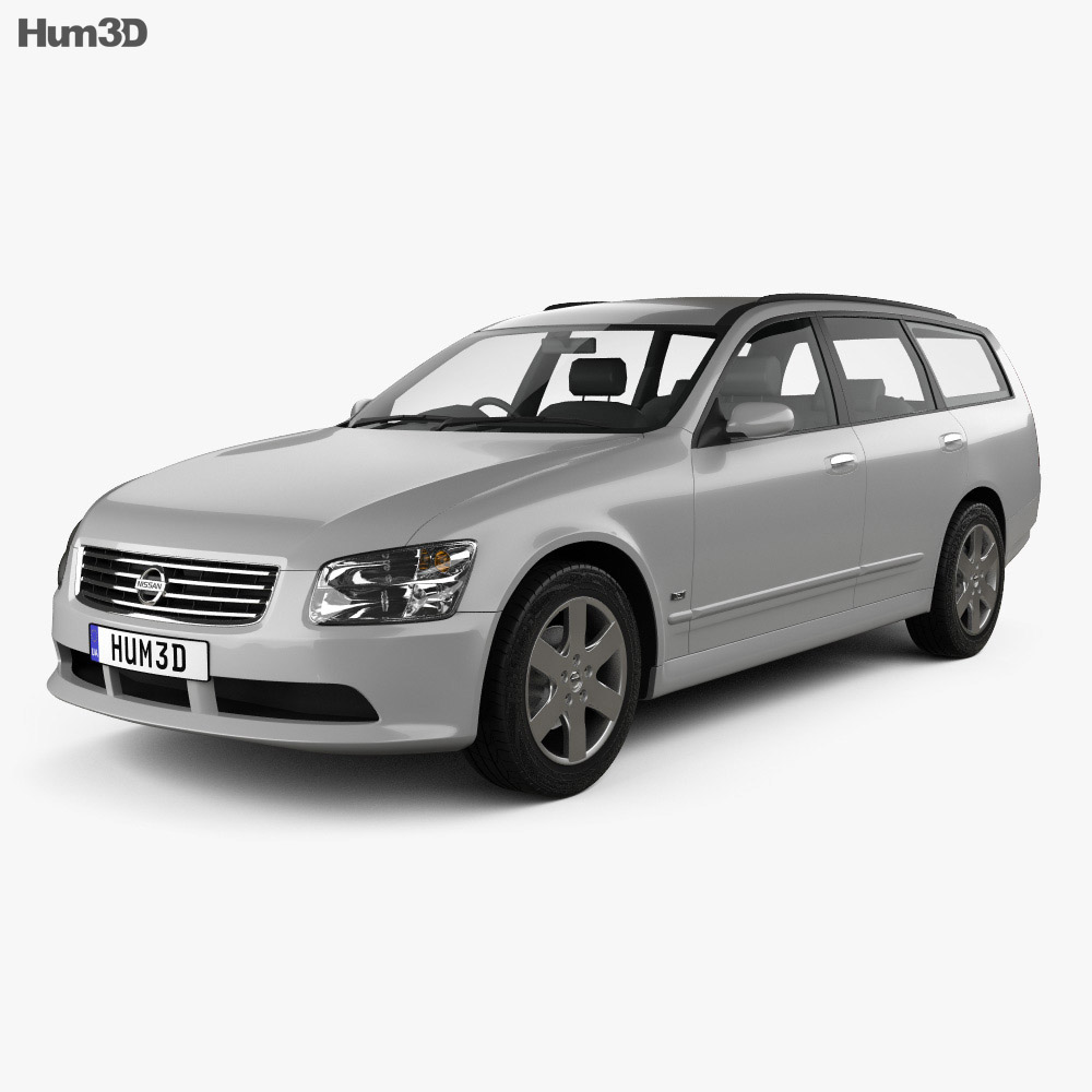 Nissan Stagea 2001 3d model