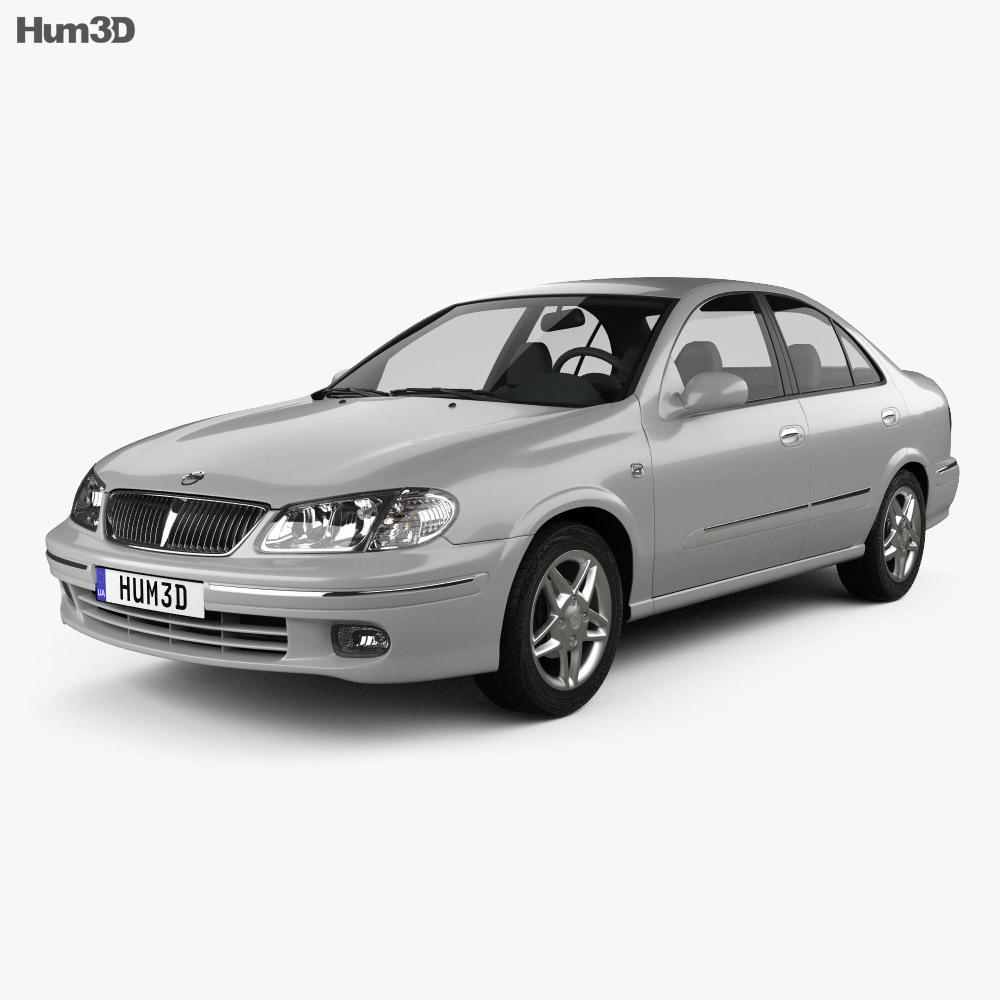 Nissan Sunny Neo GL 2000 3d model