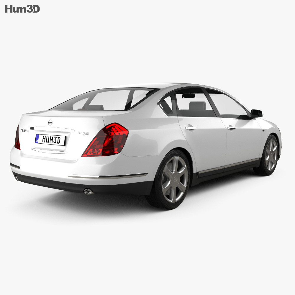 Nissan Teana 2006 3d model